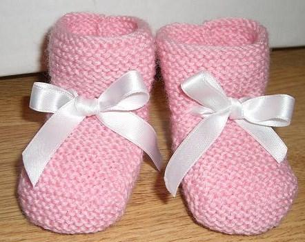 Sokk/sko til jentebaby