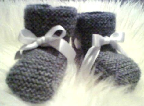 Grå sokk par